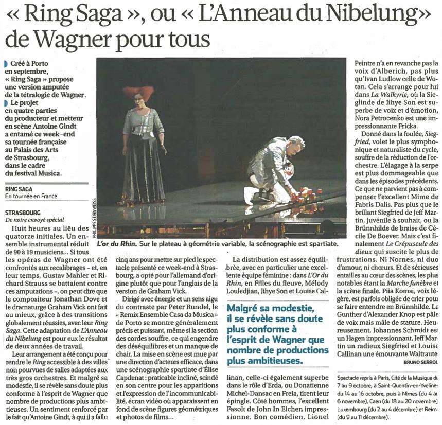 2011.10.04 : Ring Saga, La Croix