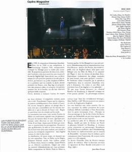 2011.11.01 : Ring Saga, Opéra Magazine