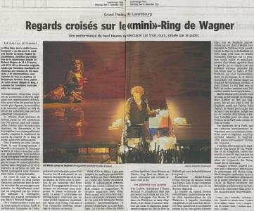 2011.12.06 : Ring Saga, Luxemburg Wort