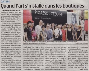 2009.06.17 : Tout Doit Apparaître, La Provence