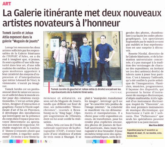 2011.11.10 : Random(2005,2011), La Provence